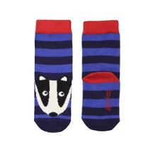 Kids cotton mix badger  socks