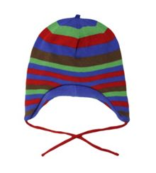 Boys knitted stripe hat