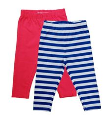 Kids organic cotton leggings pack