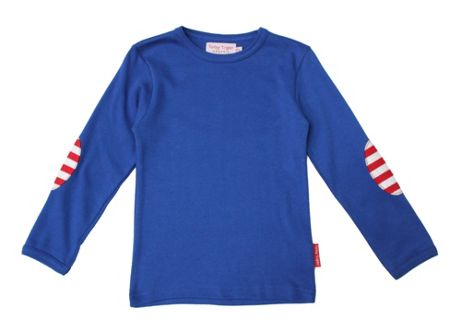 Toby Tiger Kids organic cotton t-shirt pack breton