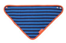 Toby Tiger Kids organic cotton stripe dribble bib