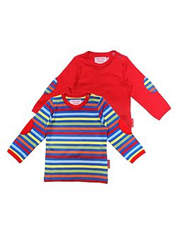 Kids bold t-shirt two pack