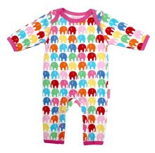 Baby girls elly printed sleepsuit