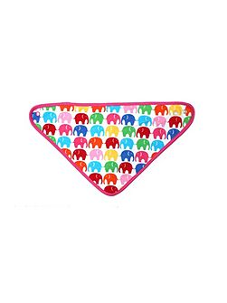 Toby Tiger Baby girls multi elly dribble bib