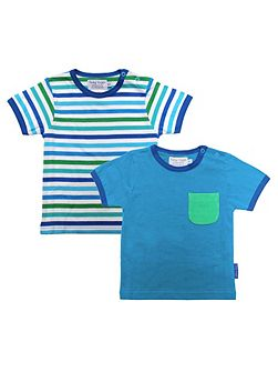 Kids stripe t-shirt two pack