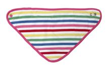 Toby Tiger Baby girls multi dribble bib