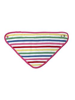 Baby girls multi dribble bib