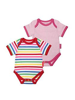 Baby girls t-shirt two pack