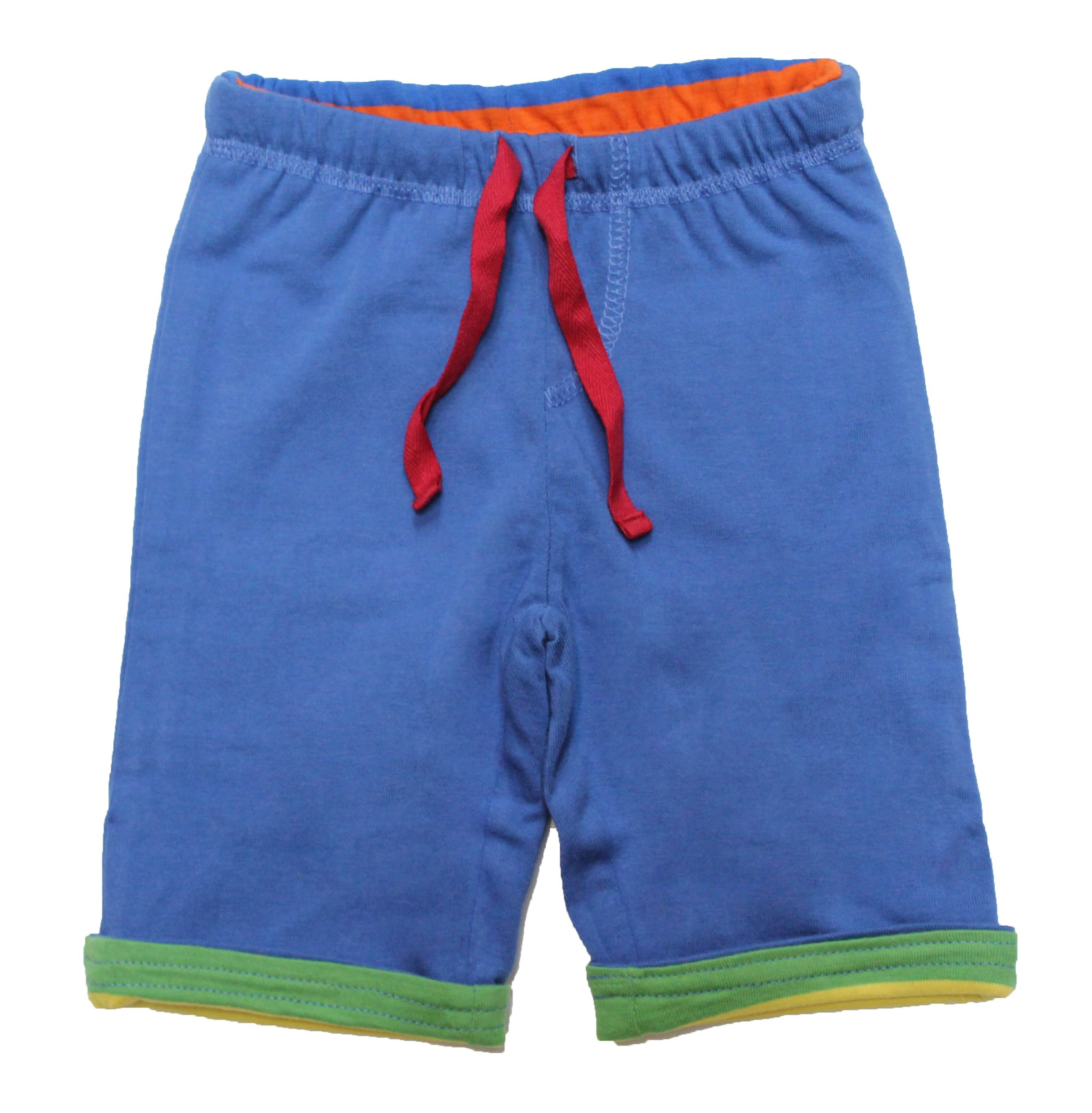 Toby Tiger Toby Tiger Babies reversible trousers, Blue