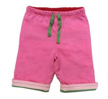 Baby girls reversible trousers