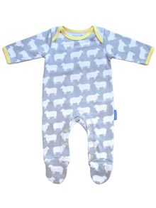 Baby Sheep Sleepsuit 2 Pack
