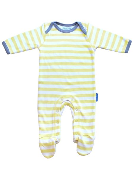 Toby Tiger Baby Sheep Sleepsuit 2 Pack