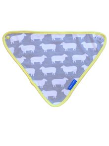 Toby Tiger Baby Sheep Dribble Bib