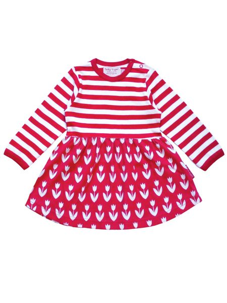 Toby Tiger Girls Tulip Twirl Dress