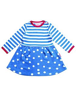 Girls Dotty Twirl Dress