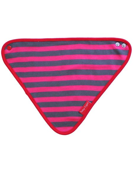 Toby Tiger Baby Girls  Rabbit Dribble Bib