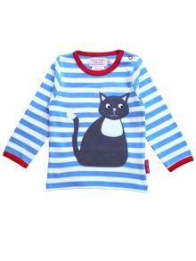 Toby Tiger Kids elly applique t-shirt