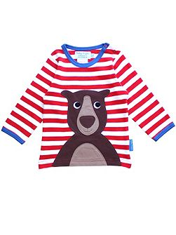 Kids Bear Applique T-Shirt
