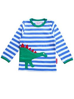 Kids Dinosaur Applique T-Shirt