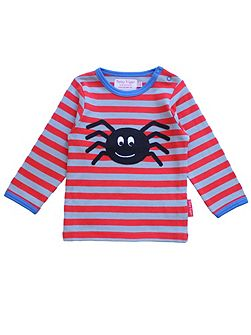 Baby Boys Spider Applique T-Shirt