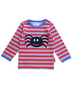 Boys Spider Applique T-Shirt
