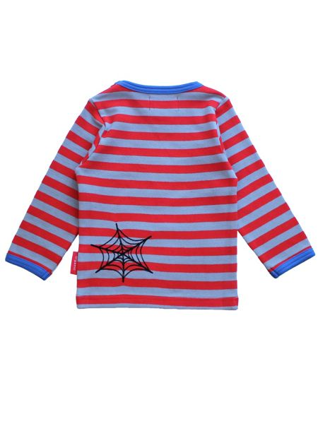 Toby Tiger Boys Spider Applique T-Shirt