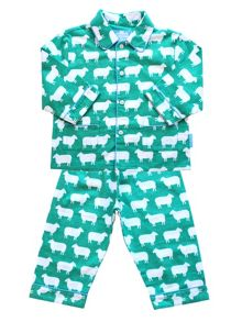 Toby Tiger Kids Sheep Pyjamas