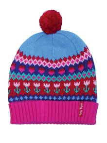 Baby Girls Tulip Knitted Hat