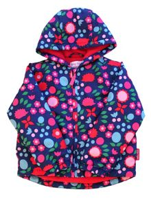 Toby Tiger Girls Hedgehog Padded Jaket