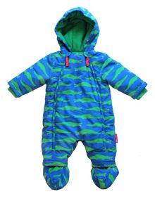 Toby Tiger Baby Boys Crocodile Snowsuit