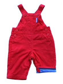 Baby Red Dungarees