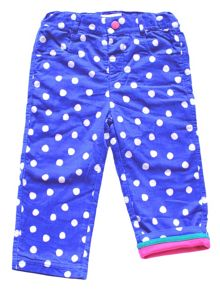 Toby Tiger Girls Blue Dot Trousers