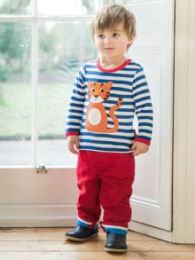 Toby Tiger Kids Red Trousers