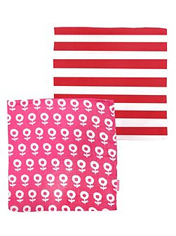 Baby Dot Flower Muslin 2 Pack