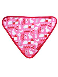 Toby Tiger Baby Girls Garden Dribble Bib