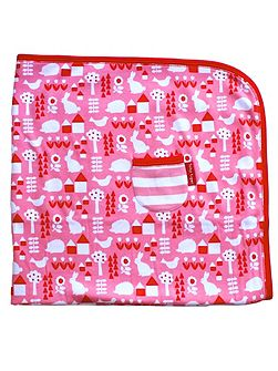 Baby Girls Garden Blanket