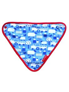 Toby Tiger Baby Boys Farm Dribble Bib