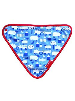 Baby Boys Farm Dribble Bib