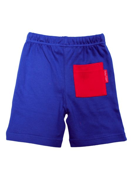 Toby Tiger Kids Navy Shorts