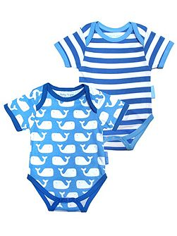 Babies Whale Baby T-Shirt 2 Pack