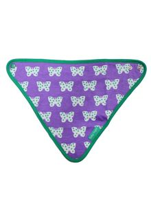 Toby Tiger Baby Girls Butterfly Dribble Bib