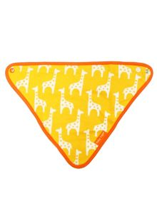 Toby Tiger Baby Girls Giraffe Dribble Bib