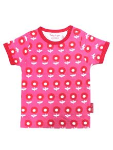 Toby Tiger Girls Dot Flower T-Shirt 2 Pack