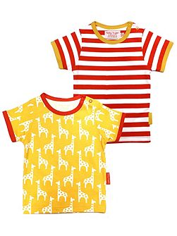 Kids Giraffe T-Shirt 2 Pack