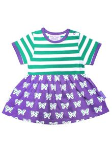 Toby Tiger Girls Butterfly Twirl Dress