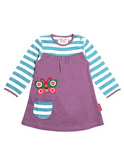 Girls Butterfly T-Shirt Dress