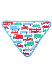 Toby Tiger Boys Transport Dribble Bib