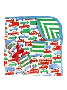 Toby Tiger Boys Transport Blanket/Shawl