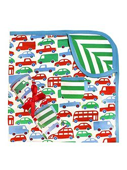 Boys Transport Blanket/Shawl