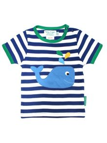 Toby Tiger Babies Whale T-Shirt